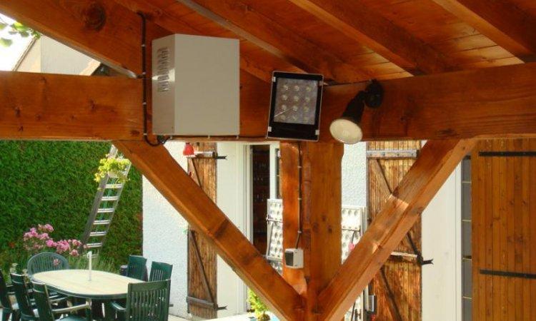 Solutions Soleil Énergie  Installation d'éclairage autonome à LED Bourg-en-Bresse